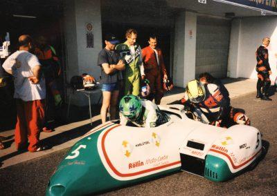 In der Karriere des Rennfahrers Marcel Büchler fehlt eigentlich nur noch die Kategorie Seitenwagen. In Most versuchte er es als Fahrer, doch es blieb beim Versuch.