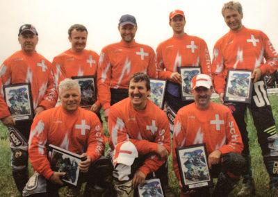 2007 entstand dieses Bild des EM-Quad-Teams mit Marcel Büchler als Mitglied